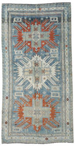Herki Vintage Teppe 134X261 Ekte Orientalsk Håndknyttet Teppeløpere Lys Grå (Ull, Tyrkia)