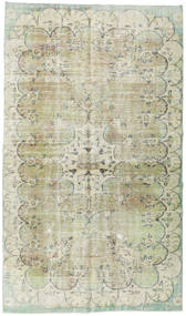Taspinar Rug 175X304 Authentic Oriental Handknotted Light Grey/Pastel Green (Wool, Turkey)