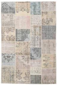 パッチワーク 絨毯 197X296 モダン 手織り 薄い灰色/薄茶色 (ウール, トルコ)