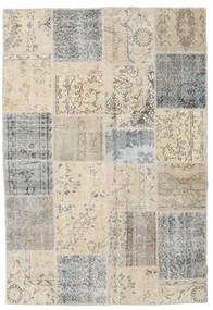パッチワーク 絨毯 157X232 モダン 手織り 薄い灰色/薄茶色/ベージュ (ウール, トルコ)