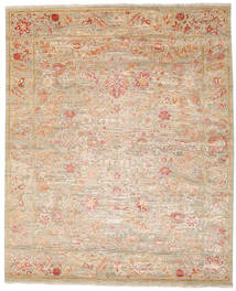 Himalaya Rug 244X298 Authentic  Modern Handknotted Light Brown/Light Pink (Wool, India)