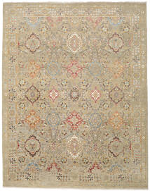Himalaya Rug 245X315 Authentic  Modern Handknotted Light Brown/Olive Green (Wool, India)