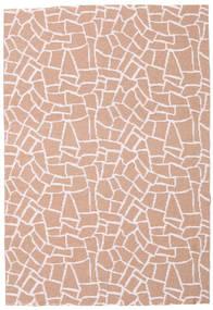 Terrazzo - Rust/Pink Rug 150X210 Modern Light Pink/Light Brown ( Sweden)