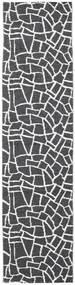 Terrazzo - Black / Creme rug CVD21819