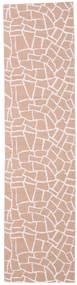 Terrazzo - Rust/Pink Teppe 70X280 Moderne Teppeløpere Lyserosa ( Sverige )