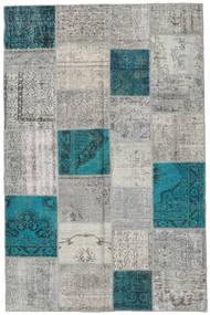 パッチワーク 絨毯 197X303 モダン 手織り 薄い灰色/濃いグレー (ウール, トルコ)