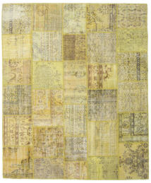 Patchwork Rug 250X300 Authentic  Modern Handknotted Light Green/Yellow/Olive Green Large (Wool, Turkey)