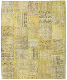 Patchwork Rug 251X303 Authentic  Modern Handknotted Light Green/Beige Large (Wool, Turkey)