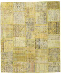 Patchwork Rug 251X300 Authentic  Modern Handknotted Light Green/Yellow Large (Wool, Turkey)