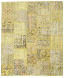 Patchwork Rug 250X301 Authentic  Modern Handknotted Light Green/Yellow Large (Wool, Turkey)