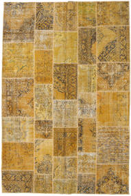 Patchwork Rug 198X300 Authentic  Modern Handknotted Light Brown/Brown (Wool, Turkey)