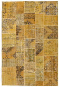 Patchwork Rug 200X298 Authentic  Modern Handknotted Light Brown/Brown (Wool, Turkey)