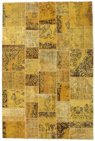 Patchwork Rug 197X297 Authentic  Modern Handknotted Yellow/Brown (Wool, Turkey)