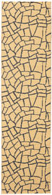 Terrazzo - Geel / Zwart tapijt CVD21814