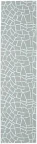 Terrazzo - Grön/Mint Matta 70X350 Modern Hallmatta Ljusblå/Ljusgrå ( Sverige)