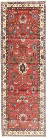 Lillian Rug 105X308 Authentic  Oriental Handknotted Hallway Runner  Dark Red/Brown (Wool, Persia/Iran)