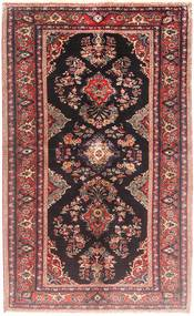 Hamadan Alfombra 128X205 Oriental Hecha A Mano Rojo Oscuro/Violeta (Lana, Persia/Irán)