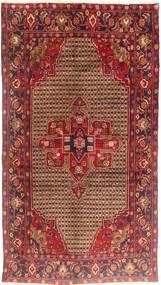 Koliai Tapis 150X275 D'orient Fait Main Tapis Couloir Rouge Foncé/Marron Clair (Laine, Perse/Iran)