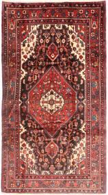 Nahavand Rug 168X312 Authentic Oriental Handknotted Dark Red/Dark Brown (Wool, Persia/Iran)