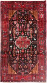 Nahavand Teppe 175X316 Ekte Orientalsk Håndknyttet Mørk Rød/Rød (Ull, Persia/Iran)