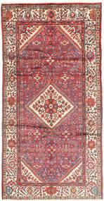 Hosseinabad Rug 160X320 Authentic  Oriental Handknotted Hallway Runner  Light Pink/Beige (Wool, Persia/Iran)