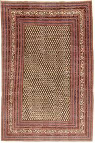 Arak Patina Rug 212X320 Authentic  Oriental Handknotted Brown/Light Brown (Wool, Persia/Iran)