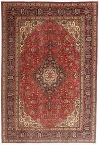 タブリーズ 絨毯 197X293 オリエンタル 手織り 茶/深紅色の (ウール, ペルシャ/イラン)
