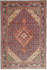 Tabriz Rug 196X295 Authentic  Oriental Handknotted Dark Red/Dark Brown (Wool, Persia/Iran)