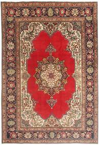 Tabriz Rug 200X290 Authentic  Oriental Handknotted Dark Brown/Light Brown (Wool, Persia/Iran)