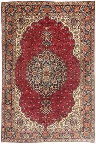 Tabriz Rug 197X305 Authentic  Oriental Handknotted Brown/Light Brown (Wool, Persia/Iran)