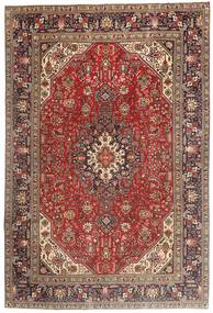 Tabriz Rug 194X290 Authentic  Oriental Handknotted Dark Brown/Dark Red (Wool, Persia/Iran)
