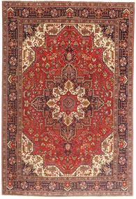 Tabriz Rug 197X290 Authentic  Oriental Handknotted Dark Red/Brown (Wool, Persia/Iran)