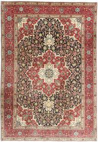 Tabriz Rug 200X293 Authentic  Oriental Handknotted Light Brown/Brown (Wool, Persia/Iran)