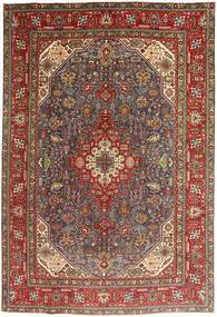 Tabriz Rug 200X295 Authentic  Oriental Handknotted Dark Brown/Brown (Wool, Persia/Iran)