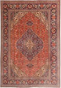 Tabriz Covor 203X297 Orientale Lucrat Manual Roșu-Închis/Maro Deschis/Maro (Lână, Persia/Iran)