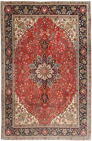 Tabriz Rug 190X284 Authentic  Oriental Handknotted Dark Red/Light Brown (Wool, Persia/Iran)