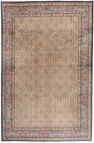 Moud Rug 181X279 Authentic  Oriental Handknotted Light Brown/Light Pink/Brown (Wool/Silk, Persia/Iran)