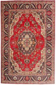 Tabriz Rug 197X300 Authentic  Oriental Handknotted Dark Red/Light Brown (Wool, Persia/Iran)