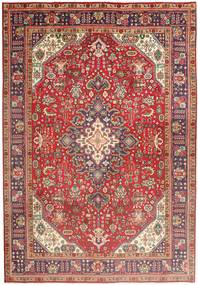 Tabriz Rug 197X285 Authentic  Oriental Handknotted Dark Red/Light Brown (Wool, Persia/Iran)