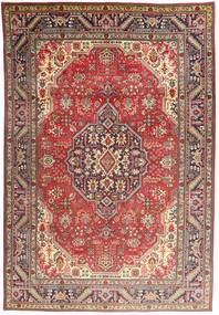 Tabriz Rug 202X296 Authentic  Oriental Handknotted Light Brown/Brown (Wool, Persia/Iran)