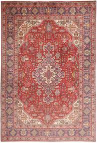 Tabriz Matto 200X298 Itämainen Käsinsolmittu Tummanpunainen/Vaaleanpunainen (Villa, Persia/Iran)