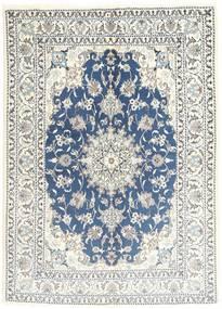 Nain Alfombra 150X206 Oriental Hecha A Mano Gris Claro/Beige (Lana, Persia/Irán)