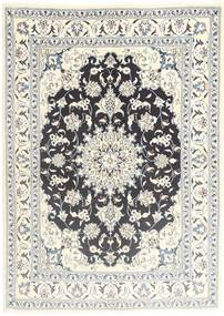 Nain Matto 155X210 Itämainen Käsinsolmittu Beige/Vaaleanharmaa (Villa, Persia/Iran)