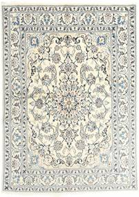 Nain Rug 145X201 Authentic Oriental Handknotted Beige/Light Grey (Wool, Persia/Iran)