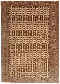 Turkaman Patina Rug 198X282 Authentic  Oriental Handknotted Brown/Light Brown (Wool, Persia/Iran)