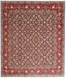 Yazd Patina Teppe 248X295 Ekte Orientalsk Håndknyttet Brun/Lysbrun (Ull, Persia/Iran)