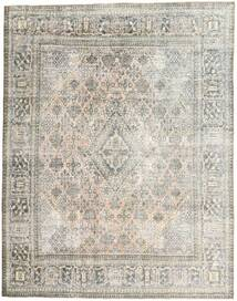 Colored Vintage Rug 270X350 Authentic  Modern Handknotted Light Grey/Dark Beige Large (Wool, Persia/Iran)