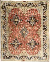 Yazd Patina Rug 295X378 Authentic  Oriental Handknotted Light Brown/Brown Large (Wool, Persia/Iran)