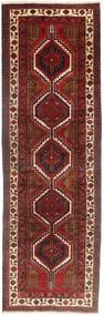 Sarab Rug 108X342 Authentic  Oriental Handknotted Hallway Runner  Dark Red/Brown (Wool, Persia/Iran)