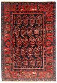 Jozan Rug 103X162 Authentic Oriental Handknotted Dark Red/Brown (Wool, Persia/Iran)